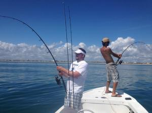 Photo Courtesy of Mike Rathjen Tarpon Double Trouble